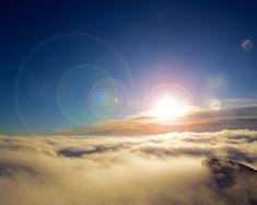 徒步牛背山 云端之巅遇见佛光