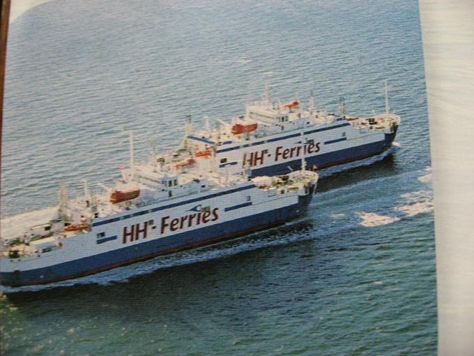 坐滚装船前往瑞典哥德堡图片