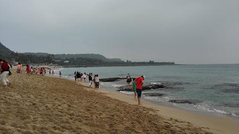 白沙湾海滩旅游景点攻略图