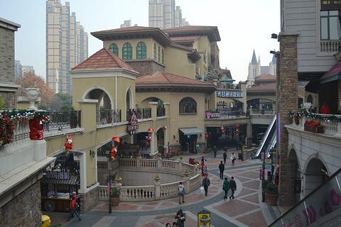 光谷步行街旅游景点攻略图