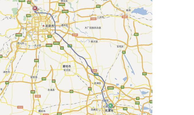 天津——北京图片
