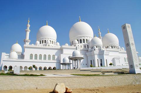 谢赫扎耶德清真寺旅游景点攻略图