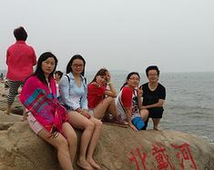 五个女孩~in北戴河