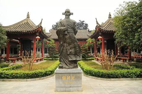 荆州古城旅游景点攻略图