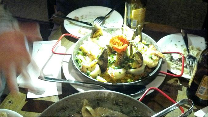 火爆的西班牙餐厅图片