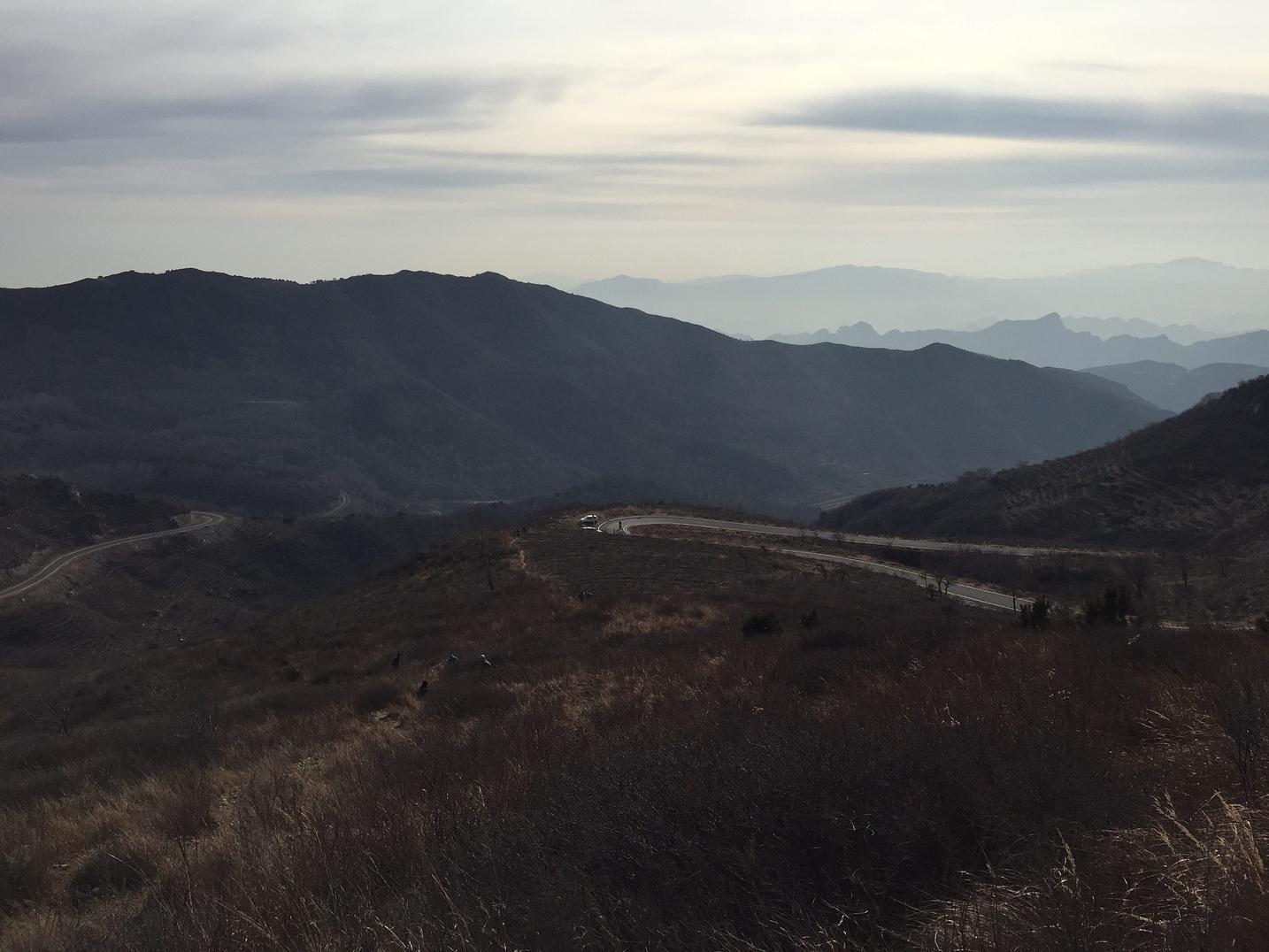 独自一人上路---阳台山至鹫峰