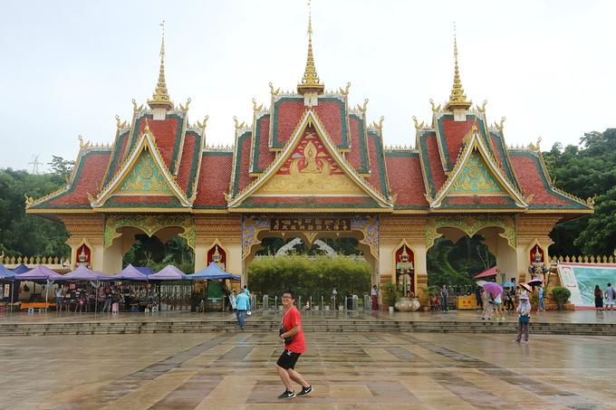 西双版纳勐泐文化旅游区图片