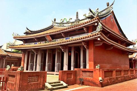 台南孔庙旅游景点攻略图
