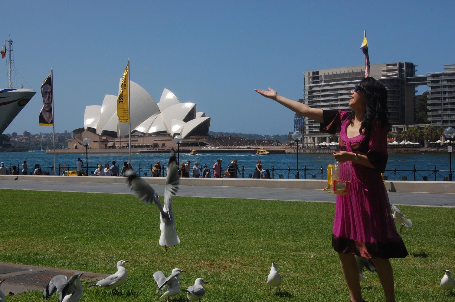 一家老小去澳洲