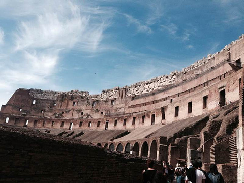 罗马斗兽场旅游景点攻略图