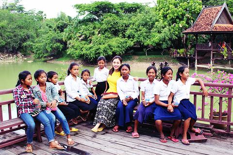 柬埔寨民俗文化村旅游景点攻略图