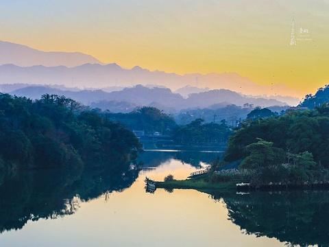 峨眉湖旅游景点图片