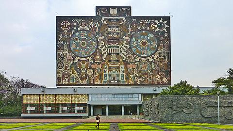 墨西哥国立自治大学城旅游景点攻略图