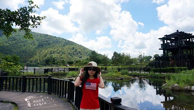 鲤鱼潭风景区图片