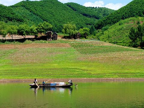绿江村旅游景点图片