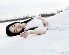 红尘与雪-在漠河遇见你,你就是最美的极光