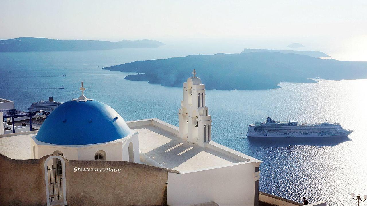 蓝色充满的神话之都—希腊