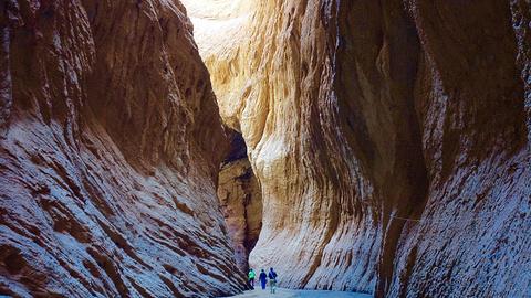 天山神秘大峡谷的图片