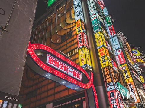 新宿歌舞伎町旅游景点图片