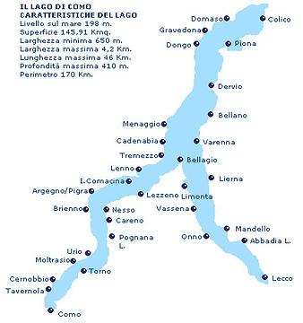 科莫湖旅游景点攻略图