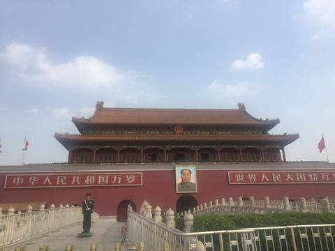 天安门城楼旅游景点攻略图