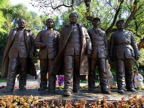 枣园革命旧址旅游景点攻略图