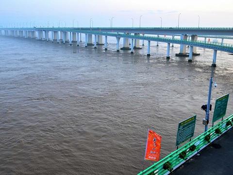 杭州湾跨海大桥旅游景点图片