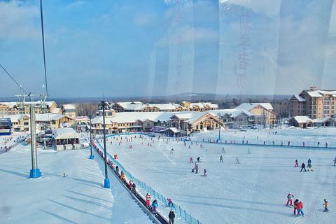 万达长白山国际滑雪场的图片
