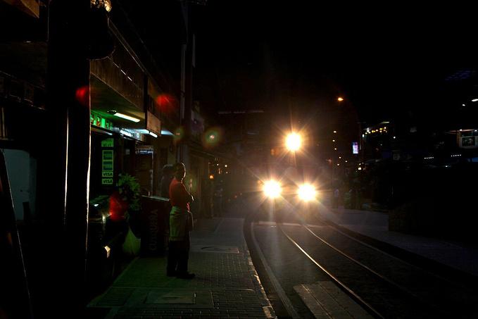 小镇街景图片