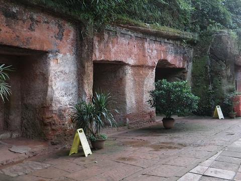 乐山汉崖墓博物馆旅游景点图片