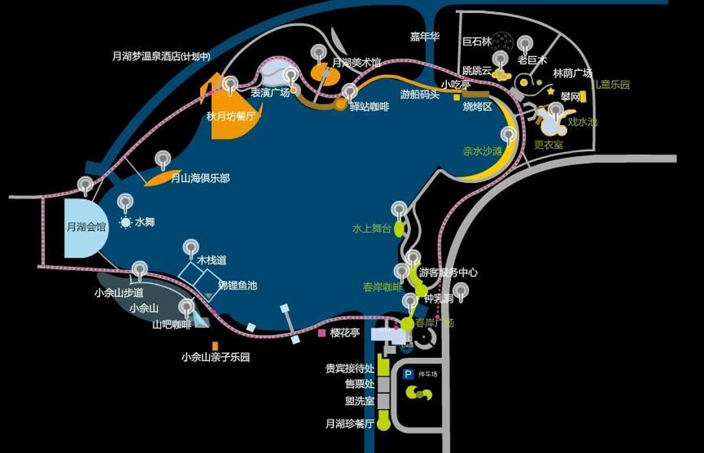 玛雅海滩水公园旅游导图