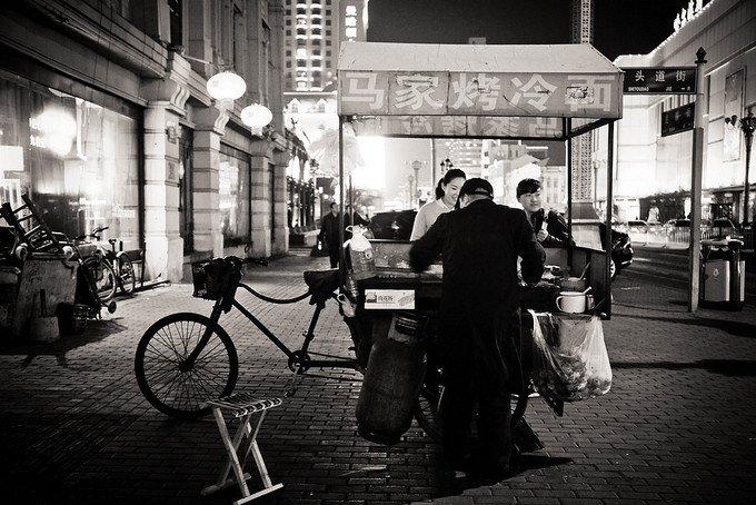 哈尔滨夜景图片