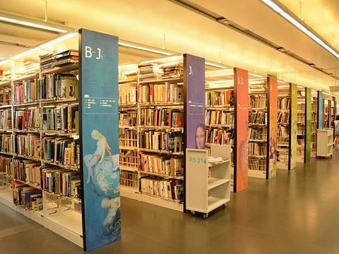 广州图书馆旅游景点图片
