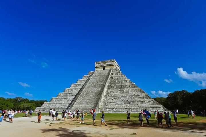 """""""想爬金字塔的朋友们,请移步去另一处遗址——Coba,看好了,不是Cuba_库若尔甘金字塔""""的评论图片"""