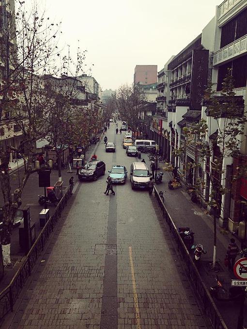 中山中路的景色图片