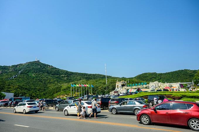 莲花山观景台图片