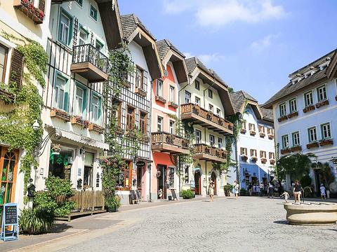 五矿哈施塔特奥地利小镇旅游景点图片