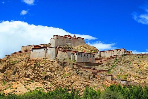 江孜宗山古堡的图片