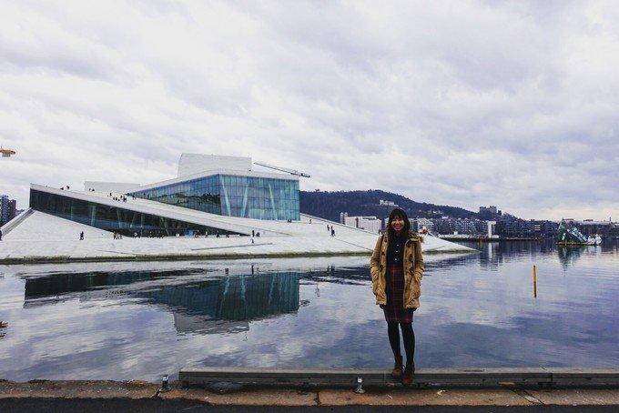 奥斯陆歌剧院图片