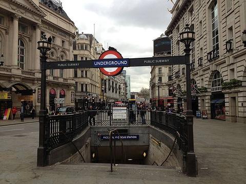 伦敦地铁旅游景点图片