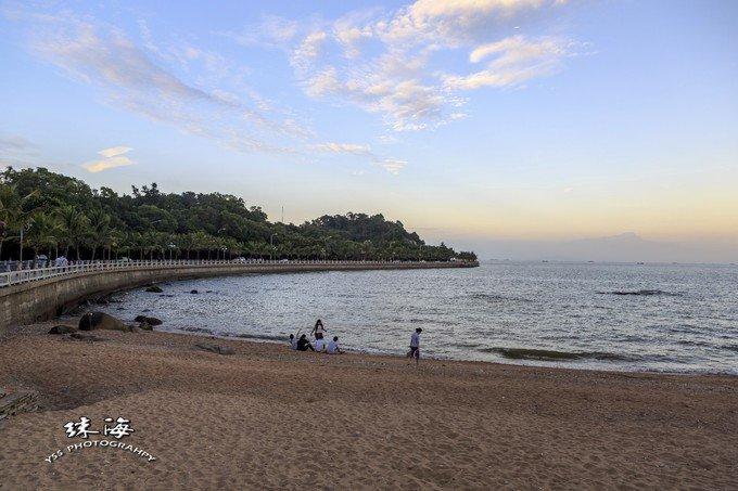珠海情侣路海滨浴场图片