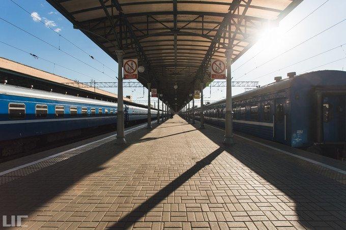 白俄罗斯火车站图片