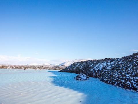 冰岛蓝泻湖旅游景点图片