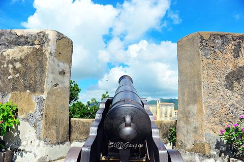 大炮台的图片