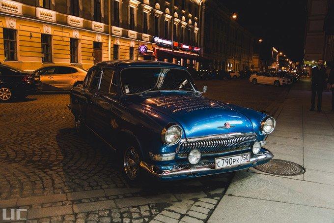 圣彼得堡之夜图片