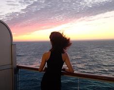 """一个温馨甜蜜""""乐享其程""""的海上假期"""