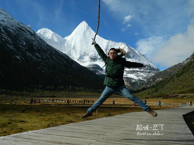 """""""回来看照片,真的是跳太多了,不高反才怪JUMP 1。JUMP3,这只是跳成功的_洛绒牛场""""的评论图片"""