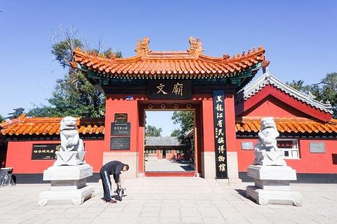 哈尔滨文庙旅游景点攻略图
