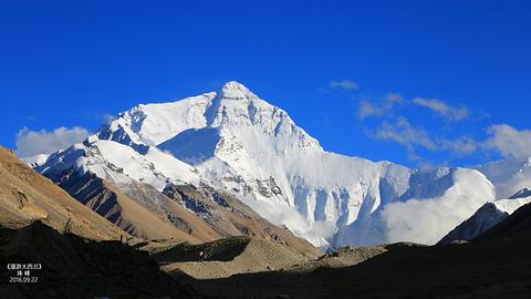 珠穆朗玛峰(南坡)的图片