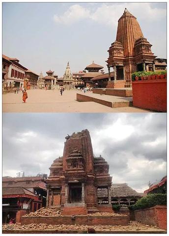 2017位置 巴德岗杜巴广场 损毁程度 顶部坍 湿婆神庙广场评论 去哪儿